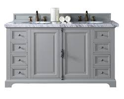 providence urban gray double sink bathroom vanity soft close doors