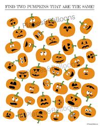Printable Halloween Game by Jack O Lantern I Spy Printable Worksheets Game For Halloween Fun