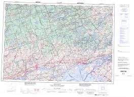 printable topographic map of kingston 031c on
