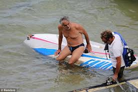 Opera Singer Blind Bocelli Andrea Bocelli 58 Windsurfs On Vacation With His Family Daily
