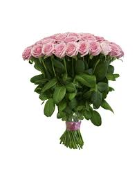 Free Vase 50 Long Stem Pink Roses Bouquet With Free Vase