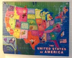 us map puzzle us map puzzle to your travels thriftyfun
