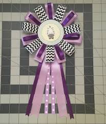 purple baby shower corsage youtube