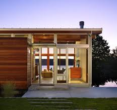 Cabin Design Ideas Vashon Island Cabin Design By Vandeventer U0026 Carlander Architects