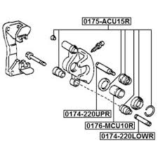 1996 toyota camry brakes febest 1996 toyota camry disc brake caliper guide pin febest