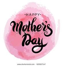 mothers day greeting card vector illustration stock vector