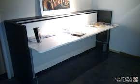 bureau 2 personnes lit escamotable bureau intégré table salle a manger bois el bodegon