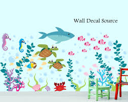 aquarium wall decal under the sea oceanic wall decal zoom