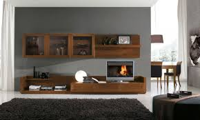 Livingroom Shelves by Funiture Contemporary Monochromatic Cabinet And Book Shelves
