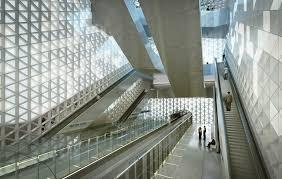 metro bureau rennes atelier zündel cristea metro station germain studies launched
