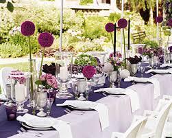 purple wedding decorations purple outdoor wedding tablescape purple outdoor weddings