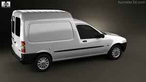 Ford Corier 360 View Of Ford Courier Van Uk 1999 3d Model Hum3d Store