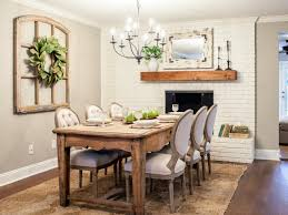 hgtv dining room 30 signs you u0027re a fixer upper fanatic joanna gaines hgtv and room