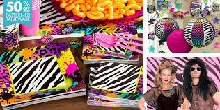 the party supplies totally 80s theme party supplies party city