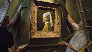 girl with a pearl earrings exhibition on screen girl with a pearl earring premieres in