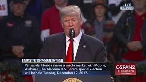 where does trump live president trump holds rally pensacola florida dec 8 2017 video