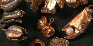 electroforming copper electroforming organic and other materials for jewelry