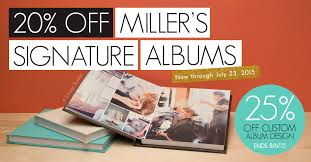 photo albums for sale sale 20 miller s signature album miller s