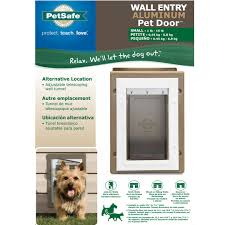 Cat Door For Interior Door Wall Entry Aluminum Pet Door By Petsafe Grp Wall