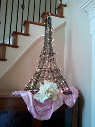 Eiffel Tower Centerpiece Ideas French Themed Baby Shower Lettering Art Studio