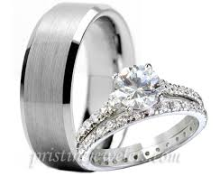 cheap wedding sets for him and wedding cheap wedding ring sets for him and his hers