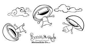 download coloring pages of boom reds educational cartoons for kids