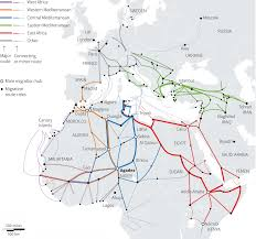 Migration Map Europe U0027s Migrant Crisis A Roundup Of Visualizations Storybench