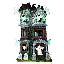 dept 56 halloween sale just picked it up today ghostly manor 2016 lemax spooky town
