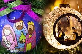 nativity tree ornaments rainforest islands ferry