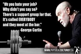 George Carlin Meme - george carlin the bar physical culturist