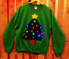 comic u0026 funny light up 2015 christmas sweater for your next