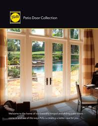 Pella Patio Doors Patio Door Collection Pella Pdf Catalogues Documentation