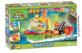 rusty boat trash pack brix kids wiek cobi toys
