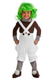 toddler costume chocolate factory worker toddler costume oompa loompa costumes