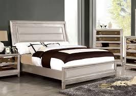 Silver Queen Bed Golva Low Profile Bedroom Set Silver Bedroom Sets Bedroom
