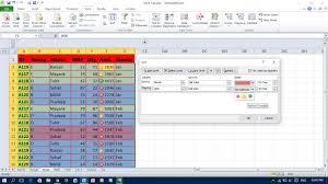sort a data range in excel youtube