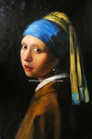 painting girl with a pearl earring girl with a pearl earring by jan vermeer painting id cm 1060 ka