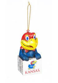 kansas jayhawk ornaments ku ornaments ncaa ornaments