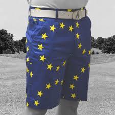 Mens Flag Shorts Eurostar