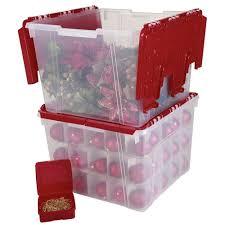 Christmas Tree Decorations Storage Bag by Corrugated Cardboard Ornament Storage Box