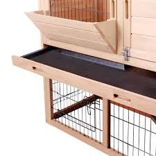 6 Rabbit Hutch Rabbit Hutch Chicken Coop Cage Guinea Pig Ferret House W 2