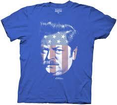 amazon com parks and rec ron swanson stars u0026 stripes mens t shirt