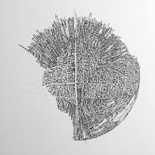 the architect who illustrates cities as redoubtable death stars