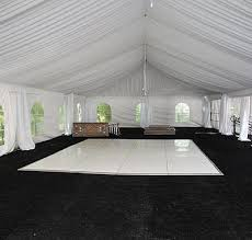white floor rental floors rentals rental party plus