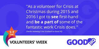 voice of volunteers u0027 week 2017