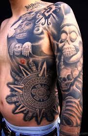47 best aztec tattoos on shoulder