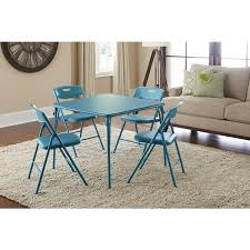 5 piece table and chair set cosco 5 piece folding table and chairs set free shipping today