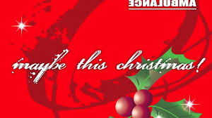 maybe this christmas 2010 little red ambulance youtube