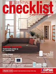 the essential checklist clipsal pdf catalogues documentation