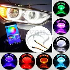 ring light effect app rgb led demon eye halo ring bluetooth app control for 3 0 2 8 2 5